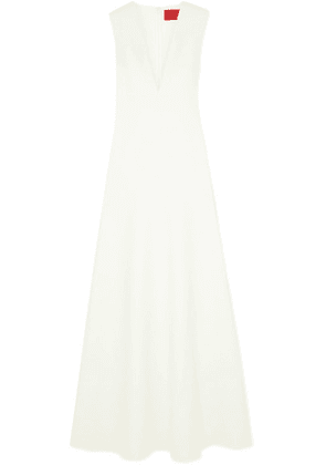 Solace London - Seine Stretch-cady Gown - Off-white