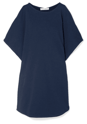 JW Anderson - Draped Cotton-jersey Top - Navy