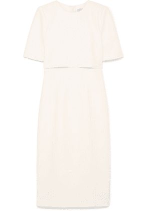 Jason Wu - Cape-effect Crepe Dress - White