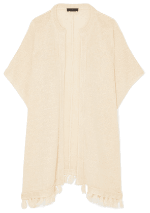 J.Crew - Haven Tasseled Linen Cardigan - Cream