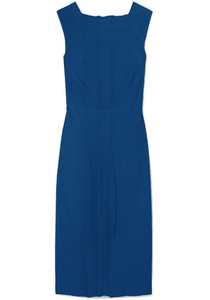 Jason Wu - Pintucked Cady Dress - Cobalt blue