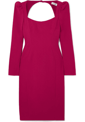 Rebecca Vallance - Briar Open-back Crepe Dress - Red