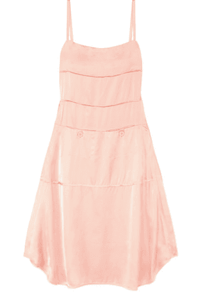 Carven - Satin Midi Dress - Blush