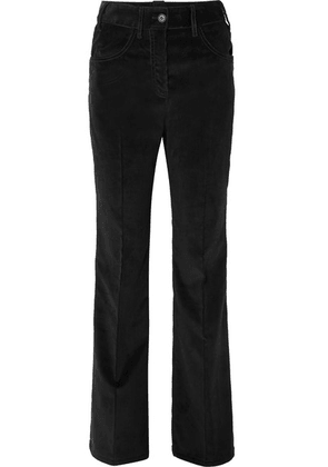 Prada - Cotton-corduroy Wide-leg Pants - Black