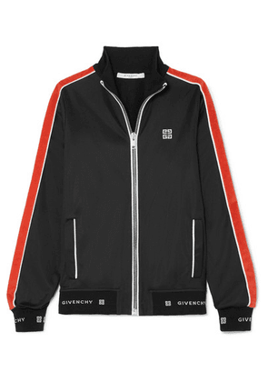 Givenchy - Striped Neoprene Jacket - Black