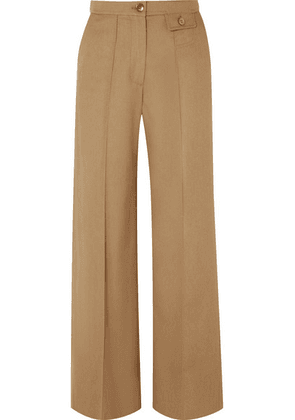 See By Chloé - City Twill Wide-leg Pants - Sand