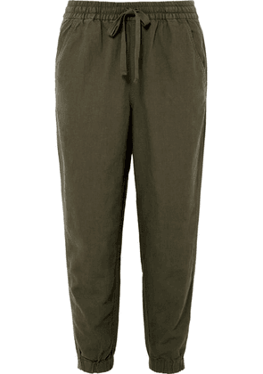 J.Crew - Seaside Linen-blend Pants - Army green