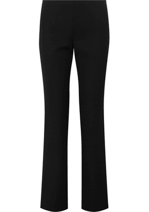 The Row - Danu Wool-blend Straight-leg Pants - Black