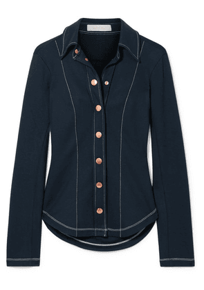 See By Chloé - Stretch-jersey Shirt - Navy