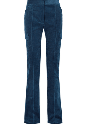 Stella McCartney - Cotton-corduroy Straight-leg Pants - Blue