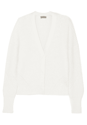 J.Crew - Brynn Ribbed Cotton-blend Cardigan - Cream