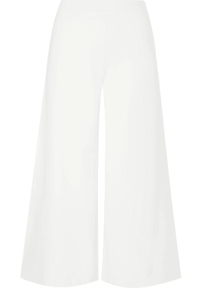 Theory - Henriet Stretch-knit Culottes - White