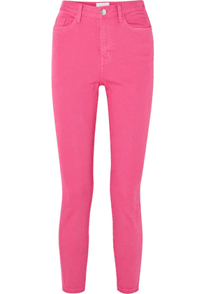 Current/Elliott - The Ultra High Waist Skinny Jeans - Pink