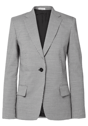 Tomas Maier - Pepita Houndstooth Wool And Cotton-blend Blazer - Gray