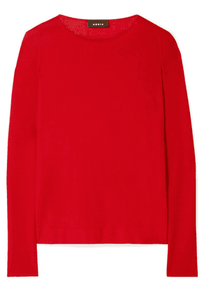 Akris - Cashmere And Silk-blend Sweater - Red
