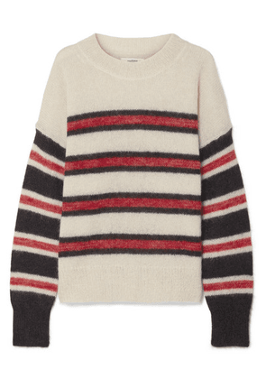 075592eaee Isabel Marant Étoile - Russell Striped Mohair-blend Sweater - Ecru