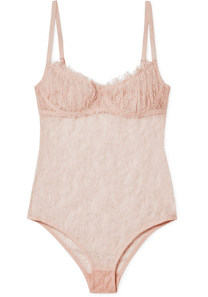 Brock Collection - Bia Lace Bodysuit - Neutral