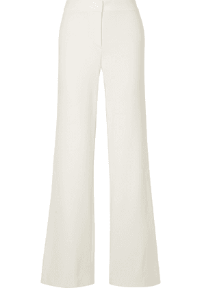 Theory - Stretch-crepe Wide-leg Pants - White