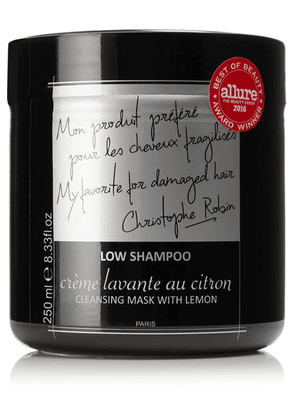 Christophe Robin - Cleansing Mask With Lemon, 250ml - one size