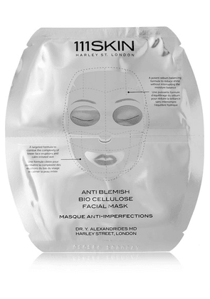 111Skin - Anti Blemish Bio Cellulose Facial Mask, 5 X 25ml - one size