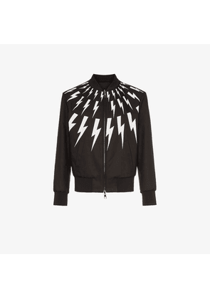 Neil Barrett NB BOLTS BMBR JKT BLK