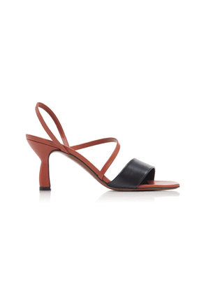 Neous Ecu Two-Tone Leather Sandals