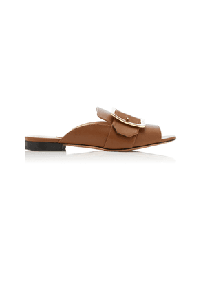 Bally Janaya Buckled Leather Sandals