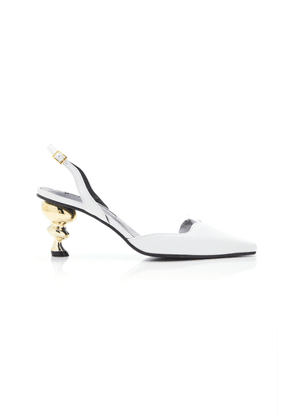 Yuul Yie Lissom Slingback Leather Pumps