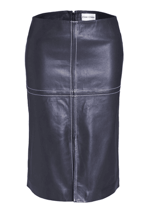 Stand Studio Andrea Leather Pencil Skirt