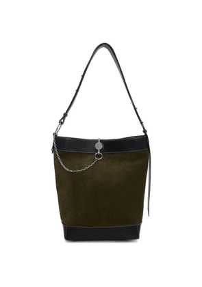 JW Anderson Green Suede Key Tote