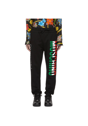 Moschino Black 'Couture!' Lounge Pants