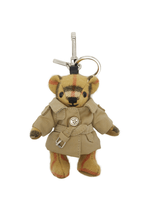 Burberry Biege Vintage Check Thomas Trench Keychain
