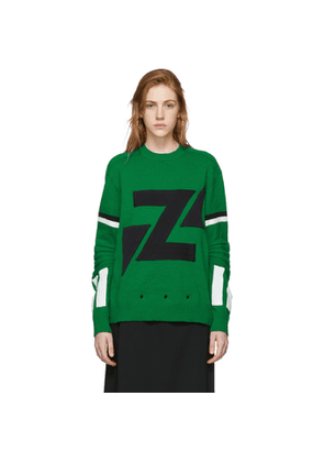 Undercover Green Crewneck Sweater