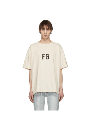 Fear of God SSENSE Exclusive Off-White 'FG' T-Shirt