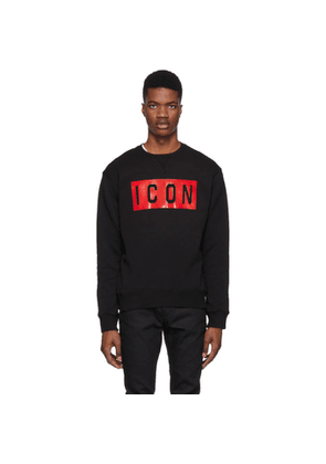 Dsquared2 Black Icon Cool Fit Sweatshirt