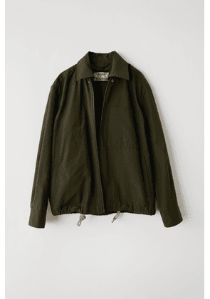 Acne Studios FN-MN-OUTW000075 Olive green  Cotton jacket