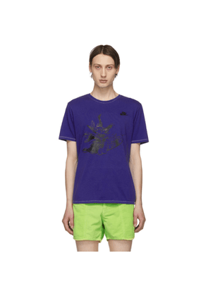 ERL Blue Nike Edition Witch T-Shirt
