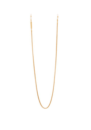 Frame Chain - Matte Gold Plated Glasses Chain - Womens - Gold