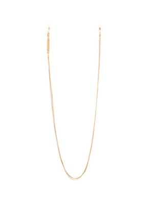 Frame Chain - Triclour Gold Plated Glasses Chain - Womens - Gold Multi