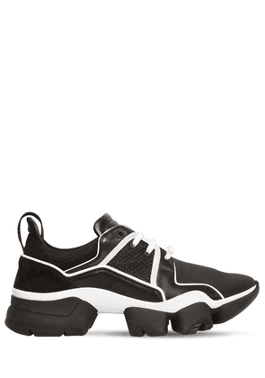 Jaw Suede, Nylon & Mesh Sneakers