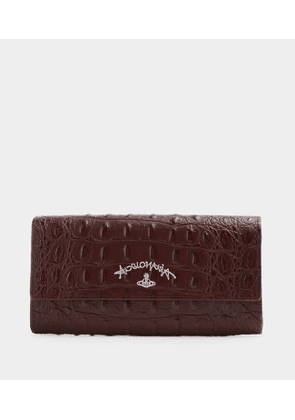 Anglomania Long Wallet Red