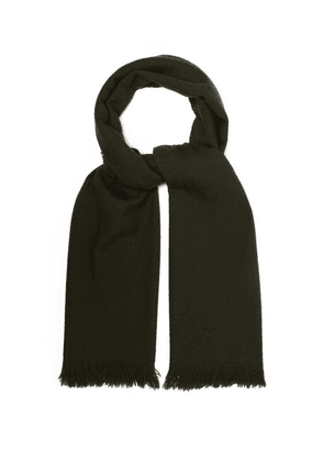 Begg & Co. - Kishorn Cashmere Scarf - Mens - Green