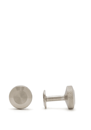 Alice Made This - Oliver Stainless Steel Cufflinks - Mens - Silver