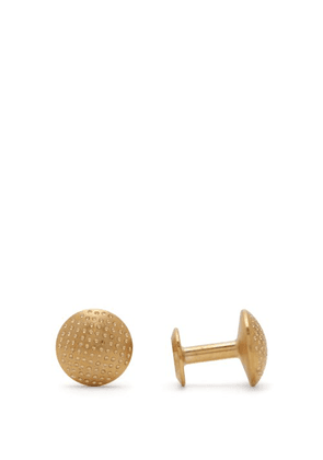 Alice Made This - James Dotted Cufflinks - Mens - Gold