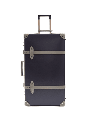 Globe-trotter - X Matchesfashion.com Centenary 30' Suitcase - Mens - Navy Multi