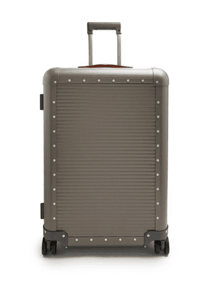Fabbrica Pelletterie Milano - Spinner 68 Stud Embellished Suitcase - Mens - Grey