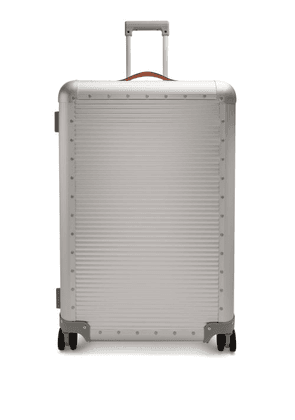 Fabbrica Pelletterie Milano - Bank Spinner 76 Aluminium Suitcase - Womens - Silver