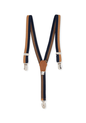 Boys' Striped Suspenders