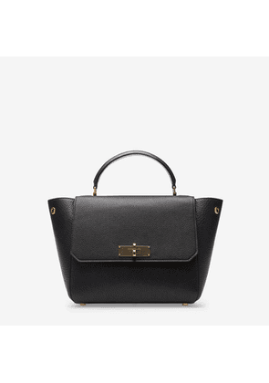Bally B Turn Small Black, Women s small leather top handle bag in black d68f0873d4