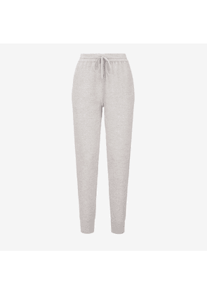 Bally Wool Tracksuit Bottoms Grey, Women's knitted wool tracksuit bottoms in grey